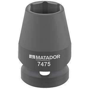 """Kraft-Steckschlüsseleinsatz, 33 mm, 1/2"""" MATADOR 7475 0330"""