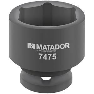 """Kraft-Steckschlüsseleinsatz, 24 mm, 1/2"""" MATADOR 7475 0240"""
