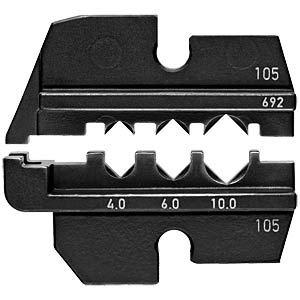 Crimping die for solar Wieland 4-10 mm KNIPEX 97 49 69 2