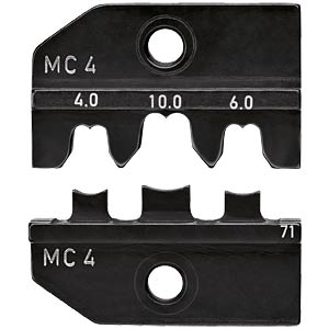 Crimping die for MC4 (up to 10 mm²) KNIPEX 97 49 71