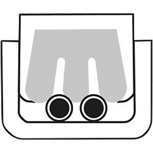 Crimpzange für Scotchlokverbinder 155 mm KNIPEX 97 50 01
