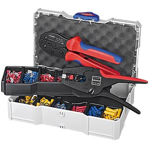 Crimp Assortment for cable connectors KNIPEX 97 90 22