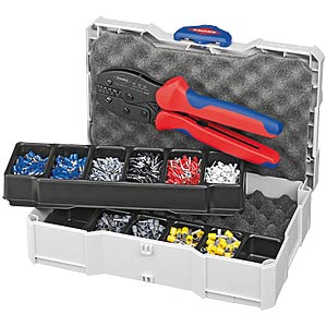 Crimp Assortment for end sleeves (ferrules) KNIPEX 97 90 23