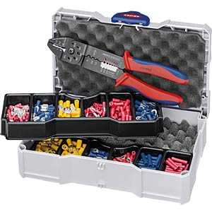 Crimpsortiment für Kabelverbinder KNIPEX 97 90 26