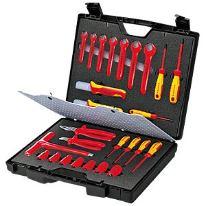 Standard Tool Case 26 parts KNIPEX 98 99 12
