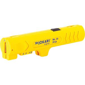 Abmantelwerkzeug, Strip No.14, 124 mm, für Flachkabel, 12 mm JOKARI 30140