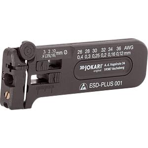 Abisolierwerkzeug, ESD-Plus 001, 102 mm, 0,12-0,40 mm JOKARI 40027
