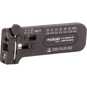 Abisolierwerkzeug, ESD-Plus 002, 102 mm, 0,25-0,80 mm JOKARI 40028