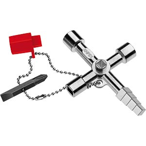 Universalschlüssel, Profi, Schaltschrankschlüssel, 90 mm KNIPEX 00 11 04
