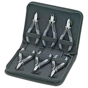Electronics pliers case, 6-piece set KNIPEX 00 20 17