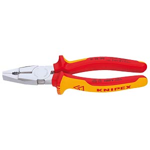 Combination pliers 190 mm, 1000V KNIPEX 01 06 190