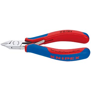 Side cutters 120 mm, carbide tip KNIPEX 77 32 120 H