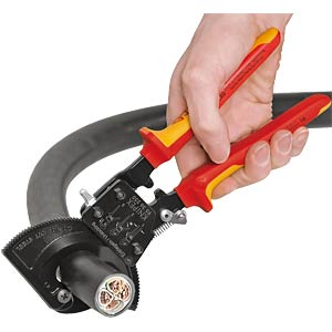 Cable cutter 240 mm, with ratchet principle KNIPEX 95 31 250