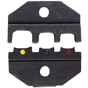 Crimping die, insulated Cable shoe 0.5 - 6 mm² KNIPEX 97 49 06