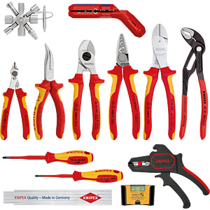 Gereedschapsset, Knipex uitbreidingsset Elektro 2, 13-delig KNIPEX 00 20 90 V02