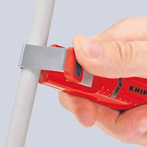 Abmantelwerkzeug, 130 mm, für Rundkabel, Ø 28,0 mm KNIPEX 16 20 28 SB