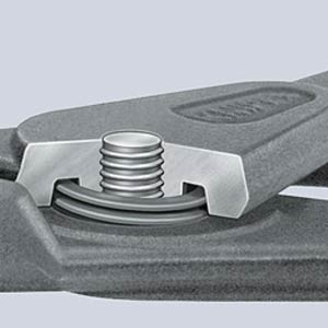 Sicherungsringzange, 90° gebogen, 130 mm KNIPEX 49 41 A11