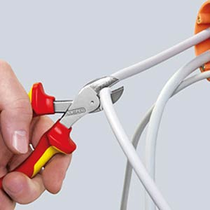 Kompakt Seitenschneider, X-Cut®, 160 mm, verchromt KNIPEX 73 05 160