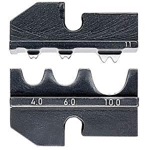 Crimpeinsatz, für KN 97 43 200 A, unisolierte Quetschkabelschuhe KNIPEX 97 49 11