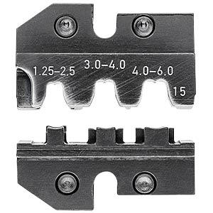 Crimpeinsatz, für KN 97 43 200 A, unisolierte Steckverbinder KNIPEX 97 49 15