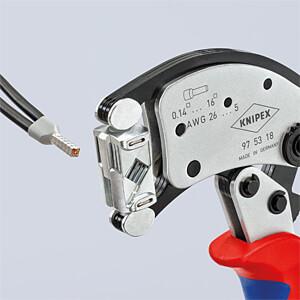 Twistor16, verchroomd, 200 mm KNIPEX 97 53 18