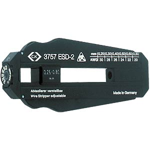 Precision stripping tool 0.25 - 0.6 mm ESD C.K T3757ESD2