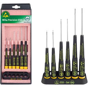 ESD Wiha hex screwdriver set, 6-piece WIHA 32278
