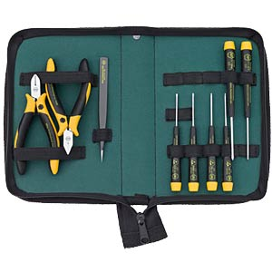 Wiha - ESD assembling kit, 9-piece WIHA 33505