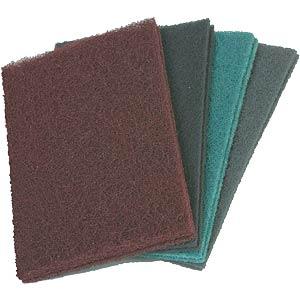 Hand-woven abrasive sheets, 152x229 mm, fine BIBIELLE NHP005