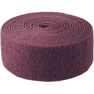 Roll of abrasive fleece, 115 mm x 10 m, medium BIBIELLE NRL907