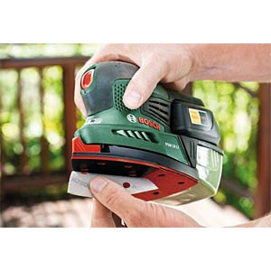 BOSCH 18V cordless multisander, battery not incl. BOSCH 0.603.3A1.301