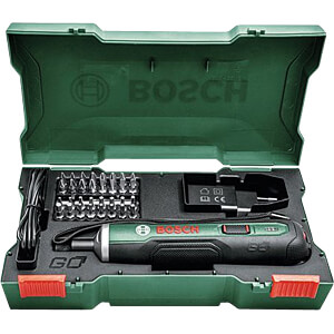 Battery-powered screwdriver, PushDrive BOSCH 06039C6000