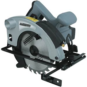 Hand-held circular saw with laser cutting guide, 1200 W BRÜDER MANNESMANN 12795