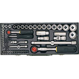 Socket spanner set, 56-piece PROXXON 23040