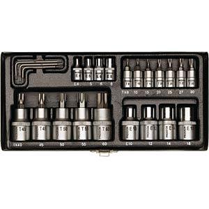 Steckschlüsselsatz, 23-teilig PROXXON 23102