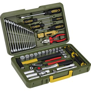 Car and universal tool case, 43-piece PROXXON 23650