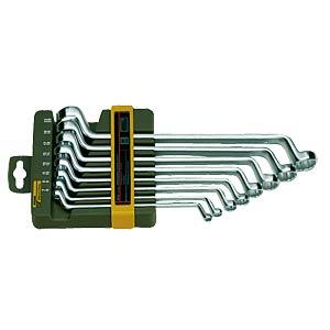 Ringschlüsselsatz, SW 6-22, 8-teilig, gekröpft PROXXON 23810