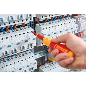 Battery-powered screwdriver, speedE®, set of 10 pcs. WIHA 41911