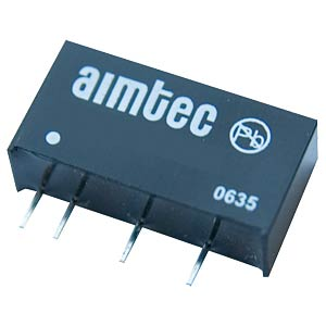 SIM2-0515D SIL7 - DC/DC-Wandler, SIL 7, 2 W, in 5 V/out +/- 15 V
