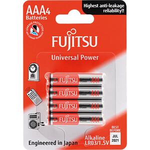 Alkaline Batterie, AAA (Micro), 4er-Pack FUJITSU LR03(4B)FU