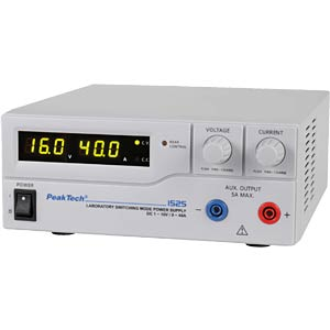 Laboratory switching power supply PEAKTECH 1525