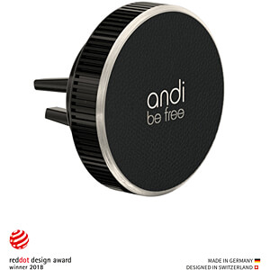 andi be free, Wireless Vent Mount Charger, 5 W ANDI BE FREE