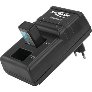 Microcontroller-gestuurde stekkeroplader ANSMANN 5107043