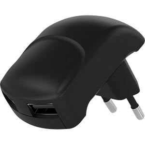 USB-oplader, 5 V, 2400 mA, 2 USB-poorten GOOBAY 59232