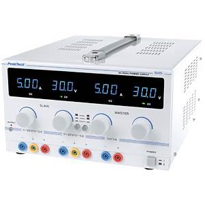 Labornetzteil 0 - 30 V / 0 - 5 ADC PEAKTECH 6145