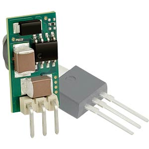 DC/DC converter 78XXSR series, 1 W, 5 V DC, SIP, single MURATA POWER SOLUTIONS 7805SR-C