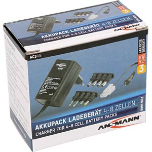 Battery pack quick charger, 5.8-11.6 V ANSMANN 1001-0024