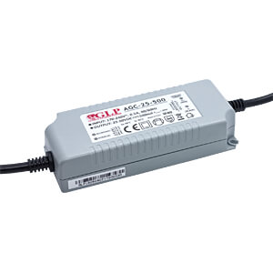LED-Netzteil, 25 W, 500 mA, 25-50 V DC, IP40 GLOBAL LEADER POWER AGC-25-500