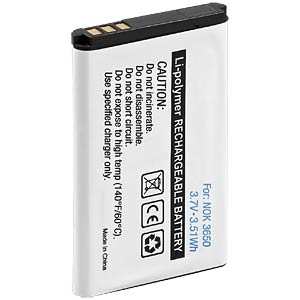 1050 mAh, Li-ion, for NOKIA 1100 FREI