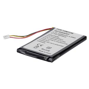 GPS navigation battery for TomTom Go530, 1300 mAh FREI